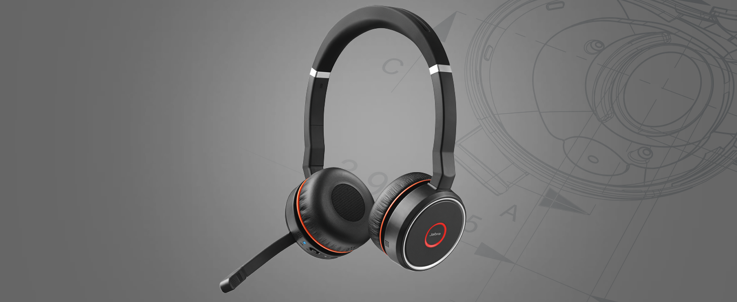 Amazon.com: Jabra Evolve 75 UC Stereo Wireless Bluetooth