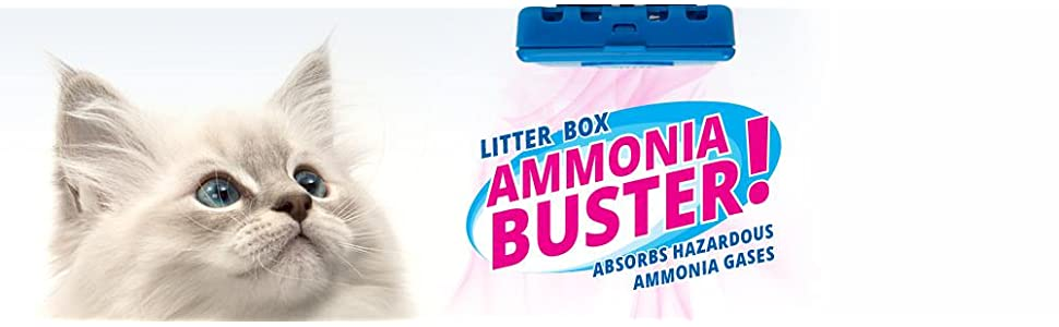 catit magic blue the litter box ammonia buster