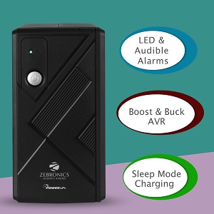 Sleep Mode charging /LED & Audible Alarm