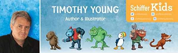 Timothy Young, Schiffer Kids, kids books