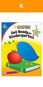 Get ready for kindergarten workbook