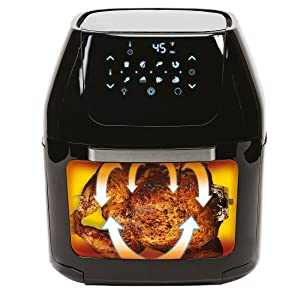 power air fryer cooker, mini oven, rotisserie, dehydrator