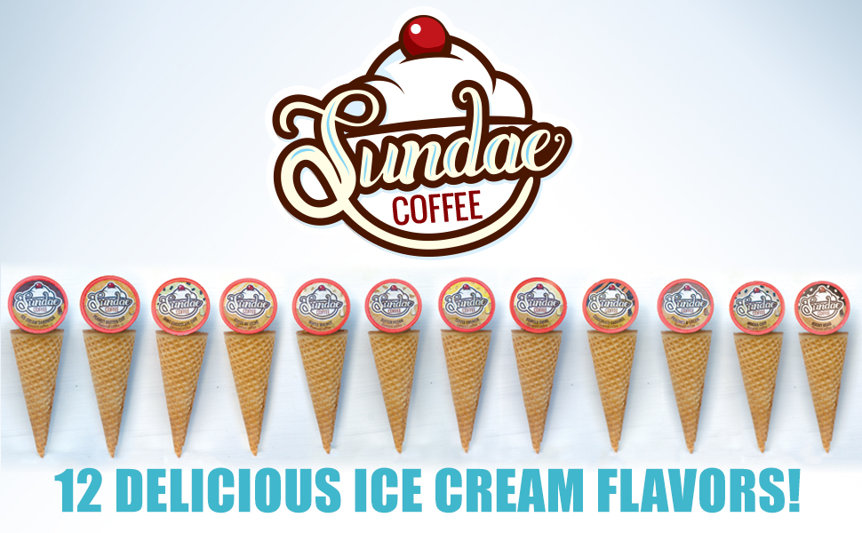 Sundae Coffee Ice Cream Flavored Coffee