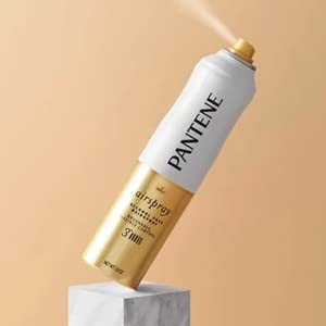 hairspray pantene airspray air spray hold style protect styling strong hold not sticky alcohol free