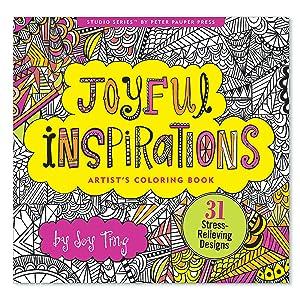 Coloring Book - Joyful Inspirations- Peter Pauper Press