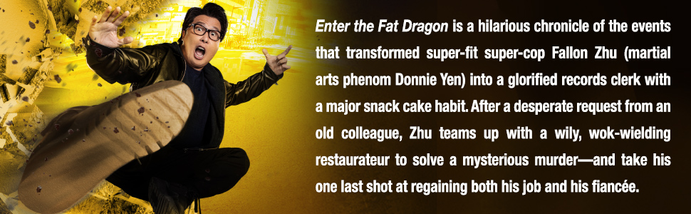 well go usa enter the fat dragon donnie yen action comedy new movie dvd blu-ray chinese martial arts