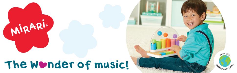 Mirari Pop Pop Piano the wonder of making music