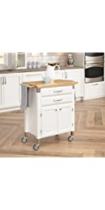 Stainless Steel Top Kitchen Cart With Breakfast Bar Natural Finish Kitchen Cart With Breakfast Bar Natural Finish Dolly Madison Kitchen Cart