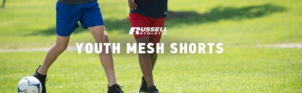 Amazon.com: Russell Athletic Big Boys' Youth Mesh Short