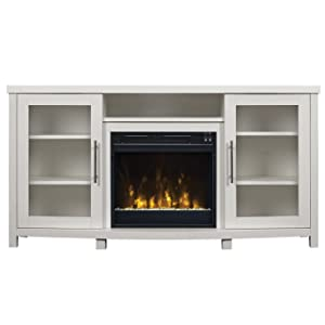 Amazon Com Pamari Milena Tv Stand With Electric Fireplace