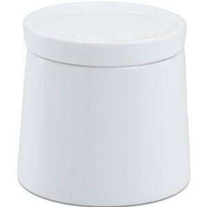 白山陶器 シュガーポット 白マット 150ml M型シリーズ