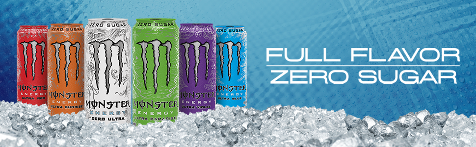 Monster Energy Ultra - Full Flavor, Zero Sugar