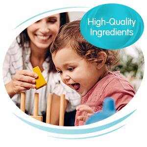 Nestlé NAN formulas have high quality ingredients to keep tummies happy
