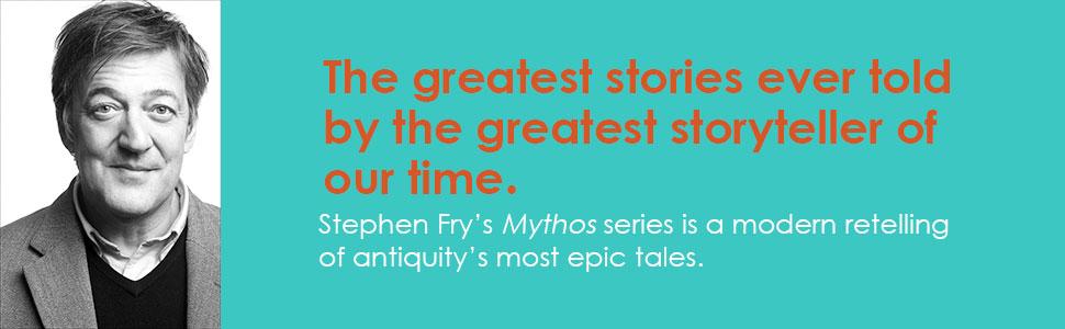 mythos, heroes, greek mythology, roman history, troy, trojan horse, stephen fry, harry potter