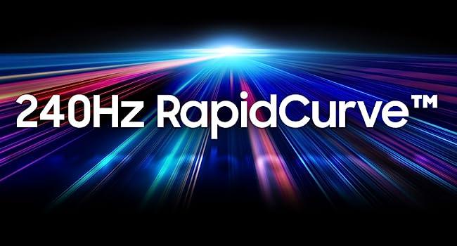 Samsung CRG5 Monitor 240Hz Rapid Curve