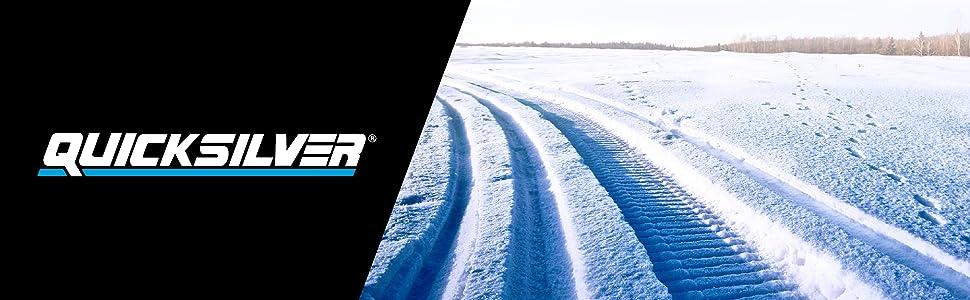 Quicksilver, Snowmobile, Header