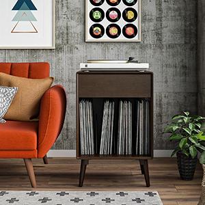 Amazon Com Novogratz Brittany Sleeper Sofa With Memory Foam Mattress Twin Navy Blue Furniture Decor