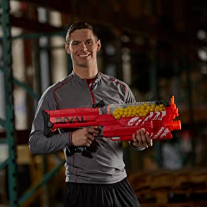 Exclusive Nerf Rival Nemesis MXVII-10K Red