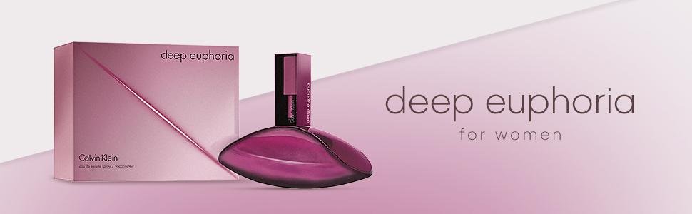 Calvin Klein Deep Euphoria Eau de Toilette Spray for Women, 3.4 oz:  Amazon.ca: Luxury Beauty