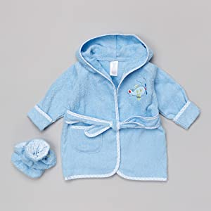 boy robe bath belt boots embroidery plane aircraft transport aviation lining gingham trim