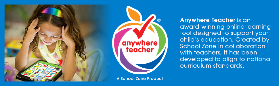 Anywhere Teacher, Award-Winning, Educational Online Learning Tool, Kids, Learning, App, Educational - School Zone - Hidden Pictures Around The World Workbook - Ages 5 And Up, Hidden Objects, Hidden Picture Puzzles, Geography, Global Awareness, And More (School Zone Activity Zone® Workbook Series)