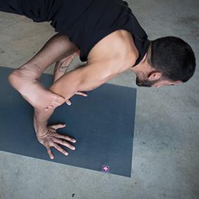 Manduka eKO SuperLite Travel Yoga and Pilates Mat, Arise, 1.5mm, 68