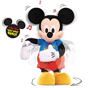 Mickeys Short Lights Up As He Sings And Dances