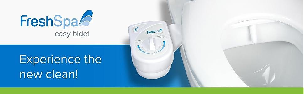 Brondell Inc Fs 10 Freshspa Easy Bidet Toilet Attachment White