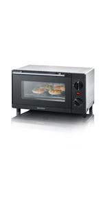 SEVERIN TO 2052 Horno Tostador incluye Rejilla grill y ...