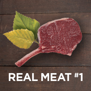 Real meat is the first ingredient