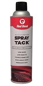 Red Devil 0843DI Multi Purpose 20 OZ Spray Adhesive