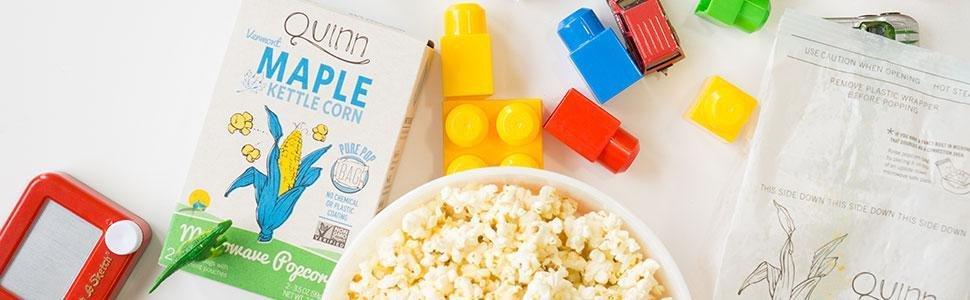 microwave popcorn box amazoncom quinn snacks microwave popcorn made with organic non