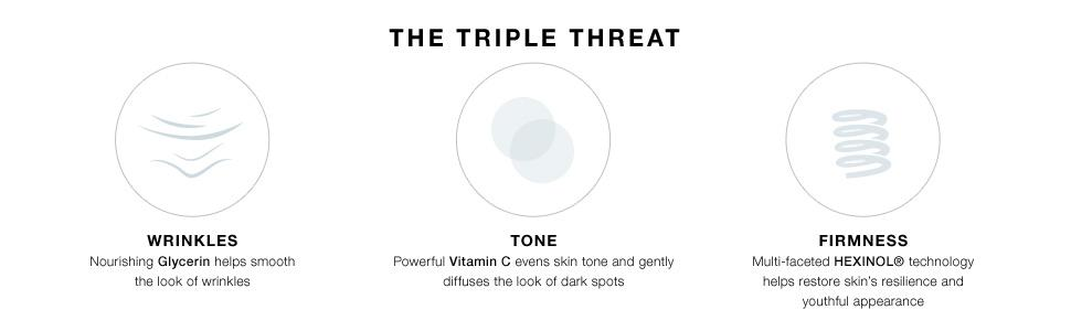 The Triple Threat: Wrinkles, Tone, and Firmness
