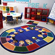 early childhoom educational classroom carpets rugs