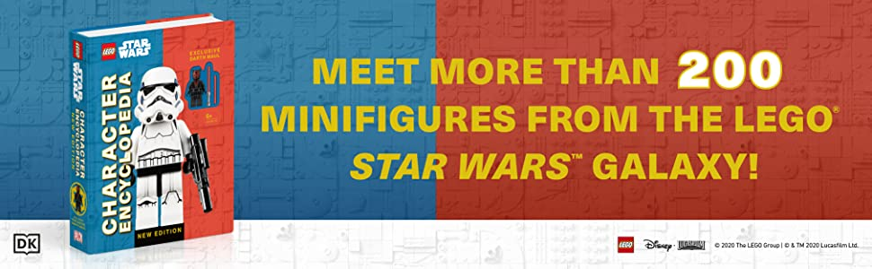 Meet more than 200 minifigures from the LEGO Star Wars Galaxy!