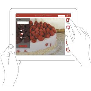 Balance de cuisine connectée Cooking Connect BC9200S5 tefal tablette smartphone