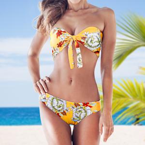 yellow bikini set