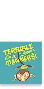 horrible terrible awful self-awareness body awareness behavior manners monkey learning book capstone