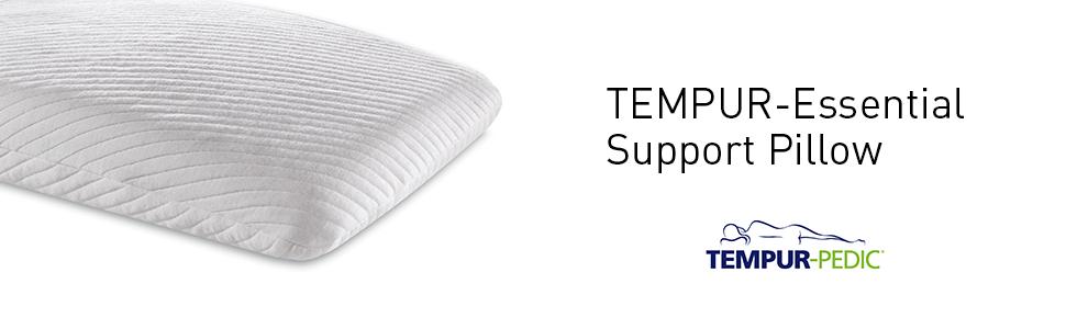 Amazon Com Tempur Pedic Tempur Essential Support Pillow