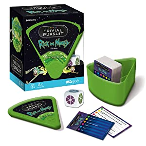 Trivial Pursuit: Rick and Morty board game