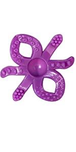 octopus teether, baby teether