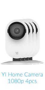 Amazon com : YI Dome Camera Pan/Tilt/Zoom Wireless IP Indoor