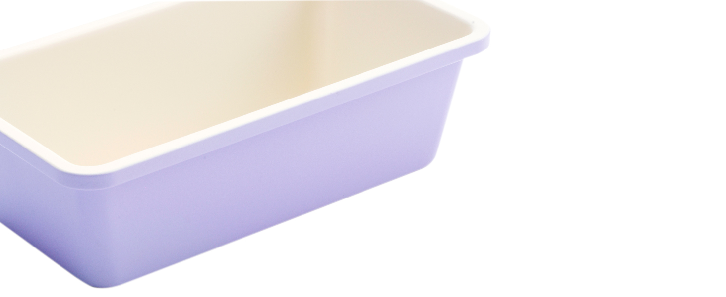 GreenLife nonstick bakeware, easy to clean, PFAS, comfort, colorful, loaf pan, reinforced rims