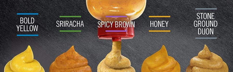 Amazon.com: Gulden's Spicy Brown Mustard, 12 Oz: Prime Pantry