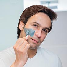 charcoal home facial de-tan tanning cleansing detox skin treatment peel off mask scrub exfoliate