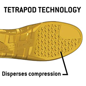 disperse cushion foot bed insole sole shoe boot