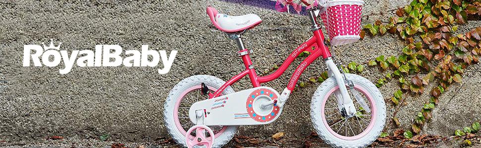 royalbaby company logo girls bike