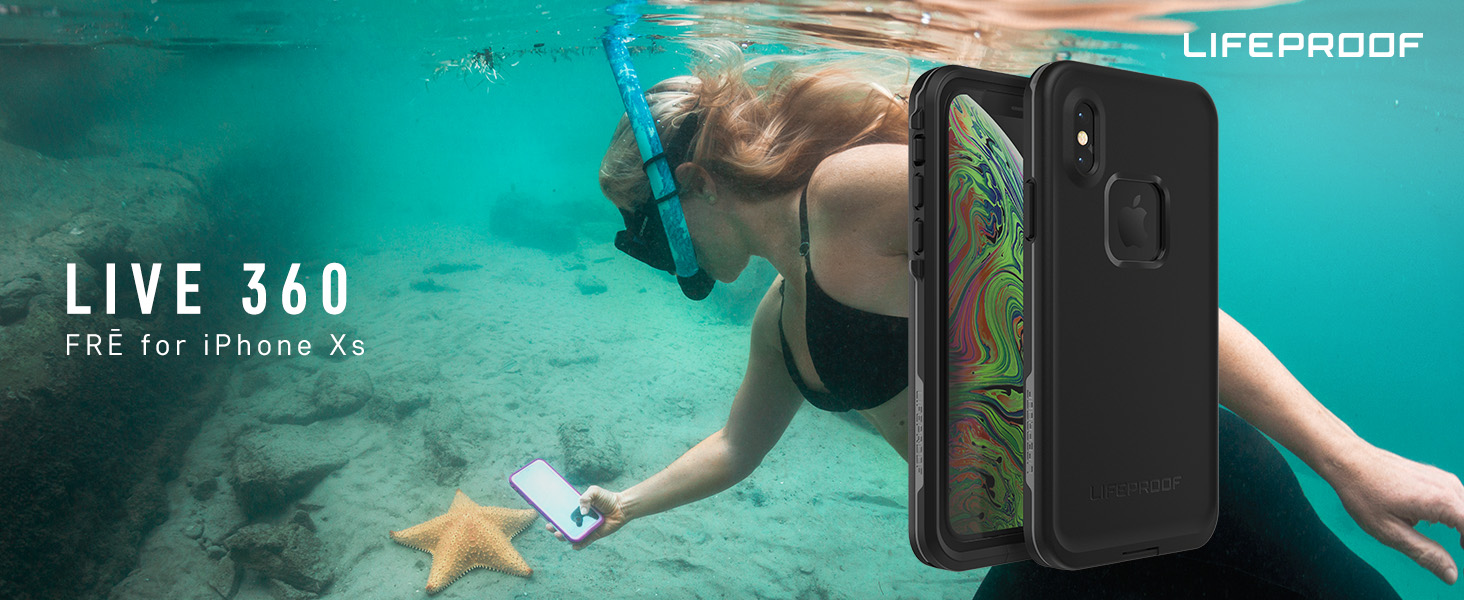 waterproof case, iphone xs waterproof case, iphone waterproof case, lifeproof, lifeproof ixs case