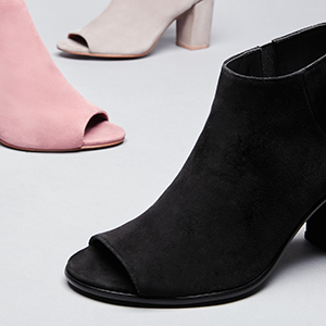 Kick up your heels in on-trend booties and boots from Steve Madden.