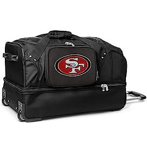 Drop Bottom Rolling Duffel Luggage
